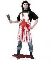 Horror schort met bloed