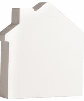 Houten huisje 11 cm