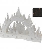 Houten kaarsenbrug voor vensterbank 10066152