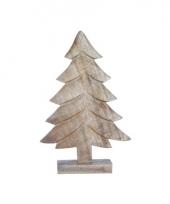 Houten kerstboom 36 cm