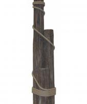 Houten paalhoofden 3delig 110cm