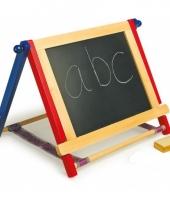 Houten teken en krijtbord 46 cm