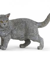 Huisdier kat speelgoed dier 4 4 5 cm
