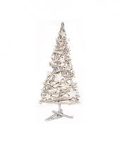 Huiskamer kerstboompje van hout