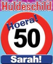 Huldeschilden 50 jaar sarah