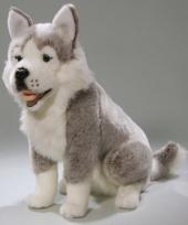 Husky honden knuffels 37 cm