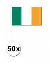 Ierland zwaai vlaggetjes 50 stuks