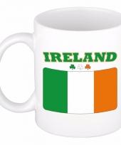 Ierse vlag koffiebeker 300 ml
