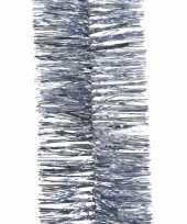 Ijs blauwe lametta guirlande 270 cm 10082233