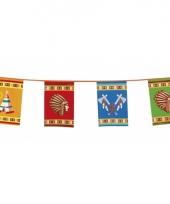 Indianen vlaggenlijnen 10 meter