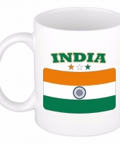 Indiase vlag koffiebeker 300 ml