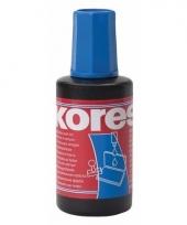 Inkt voor stempelkussen blauw 27 ml