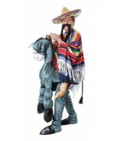 Instap kostuum mexicaan op ezel