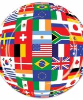 Internationale wegwerp bordjes