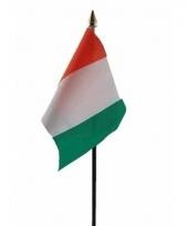 Ivoriaanse landenvlag op stokje