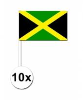 Jamaica zwaai vlaggetjes 50 stuks