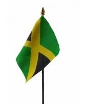 Jamaicaanse landenvlag op stokje