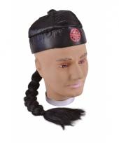 Japans hoedje met vlecht 10033224