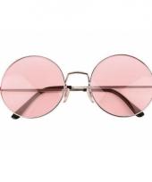 John lennon xl bril roze