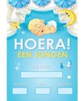 Jongen geboren mega deur posters