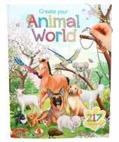 Jongens activiteiten boek dieren wereld