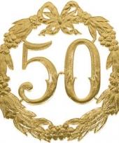 Jubileum gouden krans 50 jaar