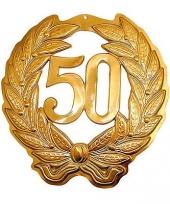 Jubileum krans 50 jaar goud