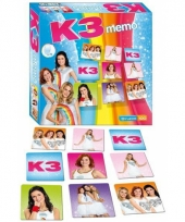 K3 memorie familiespel