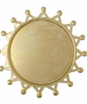 Kaars onderbord gouden zon 10051143