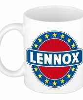Kado mok voor lennox