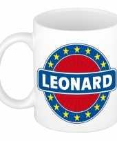 Kado mok voor leonard