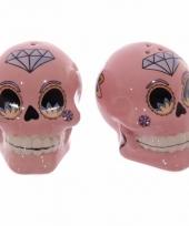Kado zoutstelletje mexicaanse schedel