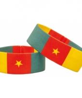 Kameroen fan armbandje