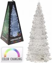Kantoor bureau kerstboompje 27 cm