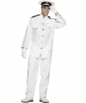 Kapitein kostuum heren