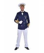 Kapiteins carnavalskleding jassen