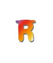 Kartonnen letter r