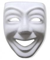 Kartonnen masker joker