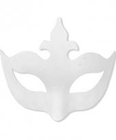 Kartonnen masker venetiaans