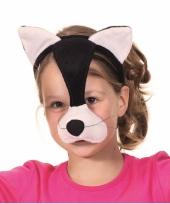 Katten feest masker op diadeem
