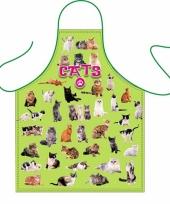 Katten liefhebbers keukenschort