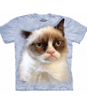 Katten shirt the mountain grumpy cat