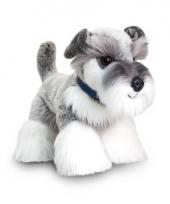 Keel toys pluche schnauzer hond knuffel 30 cm