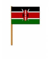 Kenia versiering zwaaivlag