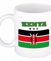 Keniaanse vlag koffiebeker 300 ml