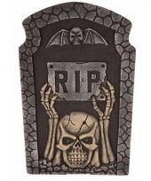 Kerkhof grafsteen met led ogen 10094203
