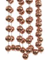 Kerst bronzen xxl kralenslinger ambiance christmas 270 cm