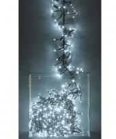 Kerst lichtsnoer wit 3 meter 576 lampjes