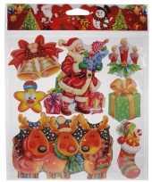 Kerst raamstickers type 2