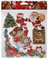 Kerst raamstickers type 3